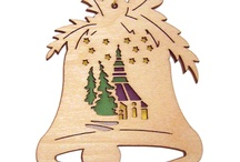erzgebirgischer Baumbehang / Baumbehang aus der Manufaktur DAMASU - Holzkunst, aus als Bastelsätze