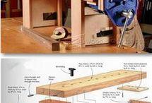 houtwerk tafel
