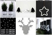 Рождество со снегопадом.