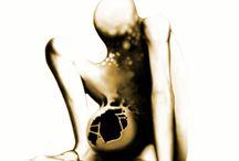 """,,Beksiński - Inspiracje"""" Rysunki cyfrowe (digital art)"""