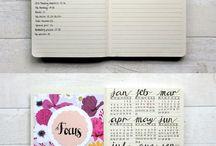 Bullet Journal + Planner