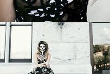 hello fashion on Halloween with amazing skeleton makeup and most