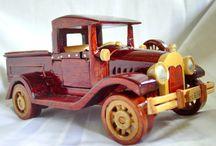 carros madera