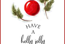 Holly jolly decorations / First grade hall decor ideas / by Becky Rasdall