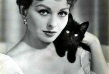 женщина & кошка