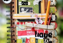 scrapbooks and albums / by Desiree de Monye