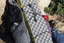 Ultra lightweight backpacking
