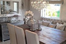 HOME SPACE |:| Dinning In / Dinning Rooms