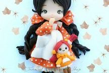 biscuit dolls