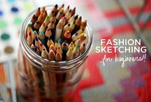 a beautiful mess / Fashion Sketching For Beginners