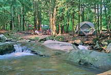 """New Hampshire Backcountry Camping / A """"best of"""" backcountry spots in New Hampshire. Did we miss something? Let us know at info@bushsmarts.com"""