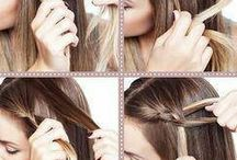 hairstyle and nails