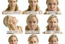 Мышцы лица и языка.