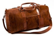 3.7.6. Weekender Bag FORNAX FNX92 (315127) / Brown and white cow's hide and goldentan natural leather, beige fabric inside Size (mm) 540 x 230 x 280