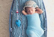 Baby Picture ideas with clothes hats ,caps, poses / baby pic ideas / by Kristi Meitner