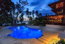 Costa Rica Luxury Eco Lodge / One of Costa Rica best eco lodges in the rainforest, Playa Cativo Lodge is located across Osa Peninsula and Corcovado National Park. Luxury travel in Costa Rica is possible at beachfront hotels and rainforest hotels, and just a few offering both.