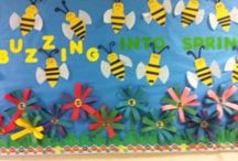 Spring bulletin board / this page has a lot of free Spring bulletin board for kids,parents adn preschool teachers.