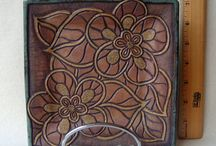 Plated / Pottery plates, functional ceramics