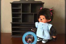 Meubles miniatures handmade pour Kiki ou Monchhichi