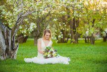 M & L • Brides / Spring wedding inspiration