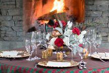 Christmas Plaid Linen