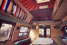 Camper: interior ideas