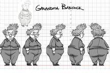 Granny Character Design