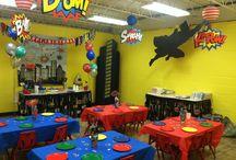Super Hero Party at Palm Tree Playground