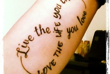 My tattos / Love it