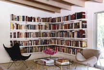 wnętrza - półki, biblioteczki
