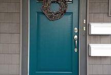 Painted steel Door