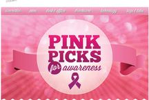 Think Pink!  Breast Cancer Awareness items / October is National Breast Cancer Awareness Month.  Show your support and raise awareness for the cause with these branded gifts and giveaways.