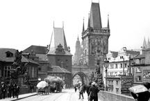 Stará fota ČR / Stará fota a kresby měst České republiky