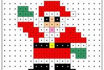 Christmas hama pattern