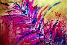Abstract Paintings / Beautiful home decor abstract paintings