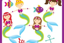 Under the Sea Clipart / by Anne Anderson