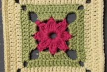 Granny squares / crocheting