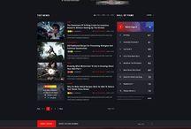 Mit Website med spil