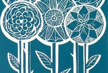 lino prints / by Sandy McFadyean