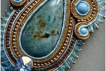 Beading - Soutache / www.etsy.com/shop/BeadsOfBohemia - COLLECTION OF SOUTACHE Designs, Patterns, Instructions, Inspiration. - pins marked * are FREE patterns or instructions, - pins marked *P are patterns or instructions to buy