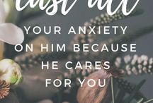 Bible passages to read when anxious