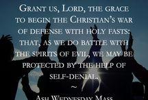 Ash Wednesday / 0