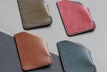 Slim wallets - Leather wallets