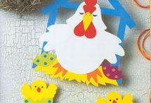 Tyúk, csirkék