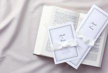 結婚式 リボン招待状・席次表 / 大切な人に贈るプレゼントのようにリボンでふたりの気持ちを そっと包んで。
