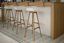Caprice Encuastic Floor Tiles / A sublime collection of Encaustic Tiles from the Caprice Range