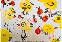 děti - výtvarné nápady