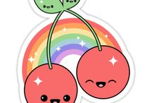 Cute Food / Super kawaii food with faces, junk food, silly sweets, weird snacks and funny candy!