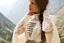 Circassian wedding dresses - çerkes gelinlikleri