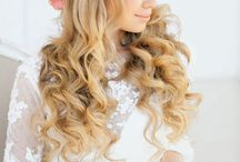 düğünlük için saç modeli